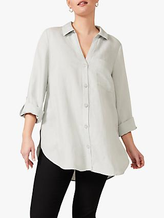 Studio 8 Nico Button Sleeve Shirt, Peppermint
