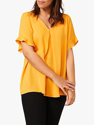 Studio 8 Wilhelmina V-Neck Top, Orange