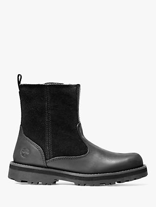 Timberland Children's Courma Warm Lined Chelsea Boots, Black