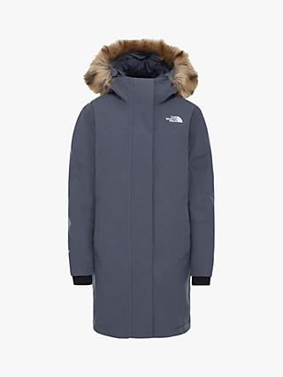 The North Face Arctic Women's Waterproof Parka Jacket, Vanadis Grey