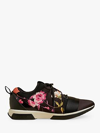 Ted Baker Nemar Floral Trainers, Black