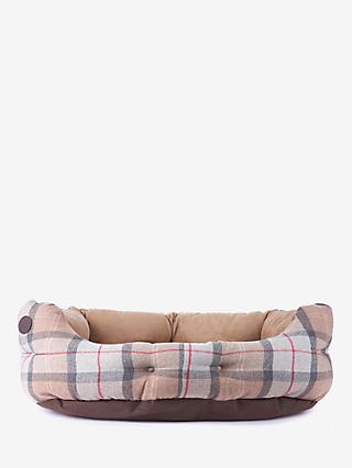 Barbour Pink Luxury Dog Bed