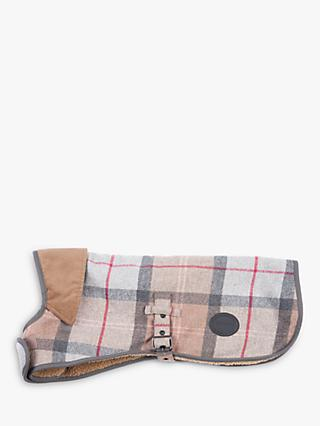 Barbour Check Wool Dog Coat