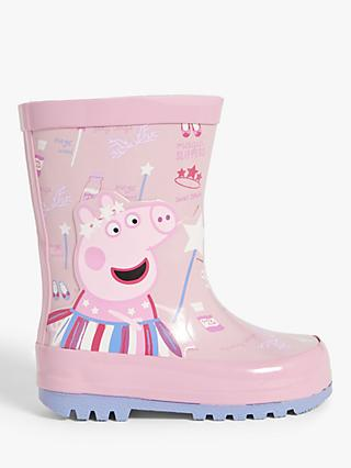 Peppa Pig Children's Fairy Wellington Boots, Pink