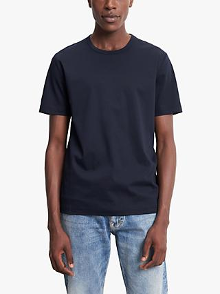 Tiger of Sweden Olaf Pure Cotton T-Shirt, Navy