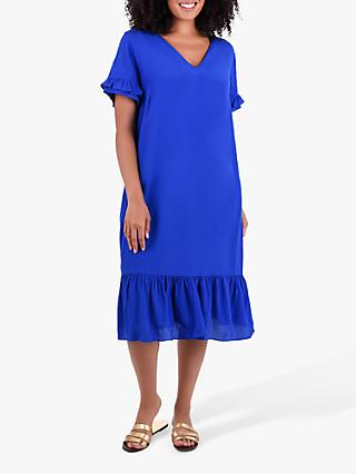Live Unlimited Curve Yves Dress, Yves Blue