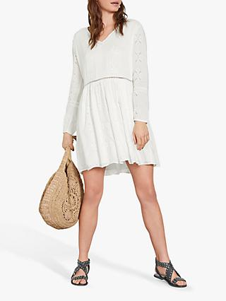 hush Ida Dress, White