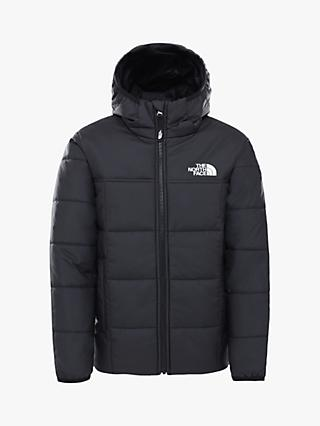 The North Face Boys' Reverse Perrito Jacket, Black