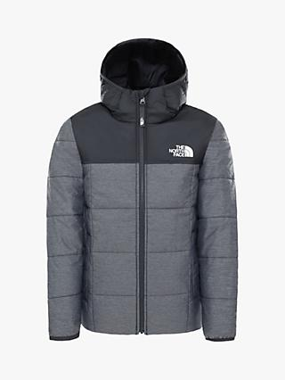 The North Face Boys' Reverse Perrito Jacket, Grey