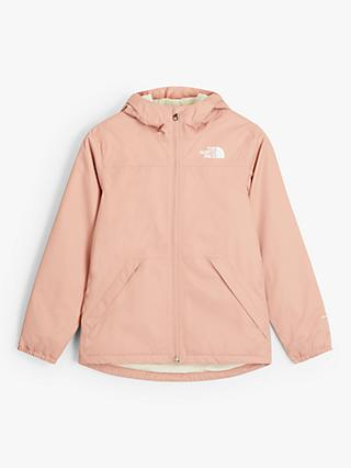 The North Face Girls' Warm Storm Jacket, Pink