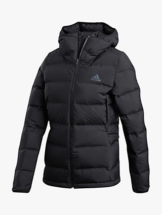 adidas Helionic Down Women's Water Repellent Jacket, Black