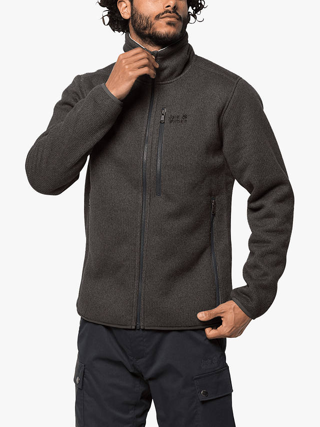 Jack Wolfskin Robson Fjord Men's Fleece Jacket, Brownstone ...