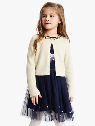 John Lewis & Partners Girls' Party Shrug