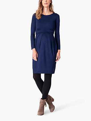Seraphine Empire Waist Maternity & Nursing Dress, Cobalt