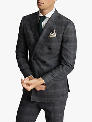 Reiss Dream Slim Fit Wool Suit Jacket, Navy