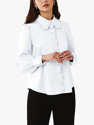 Ghost Isabella Blouse, White