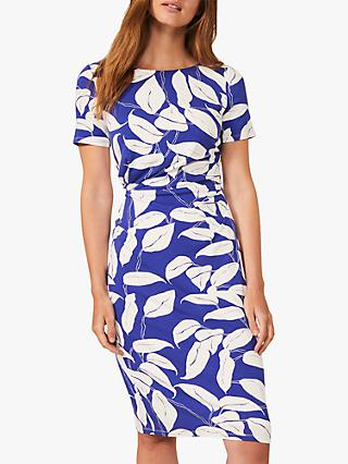 Phase Eight Camilla Jersey Dress, Blue
