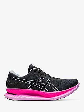 ASICS GLIDERIDE Women's Running Shoes, Graphite Grey/Black