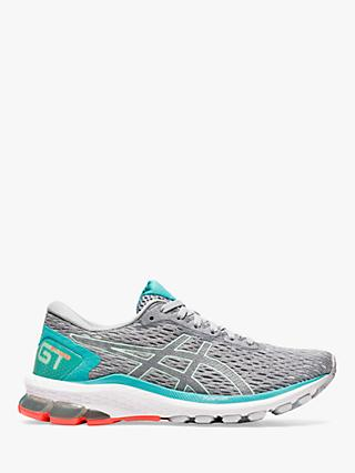 ASICS GT-1000 9 Women's Running Shoes, Piedmont Grey/Bio Mint