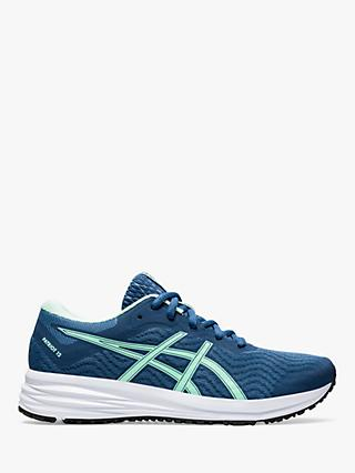 ASICS PATRIOT 12 Women's Running Shoes, Grand Shark/Fresh Ice