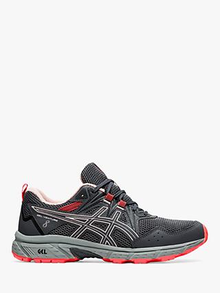 ASICS GEL-VENTURE 8 Women's Trail Running Shoes, Carrier Grey/Ginger Peach