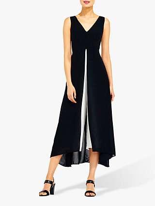 Adrianna Papell Colour Block Jumpsuit, Black