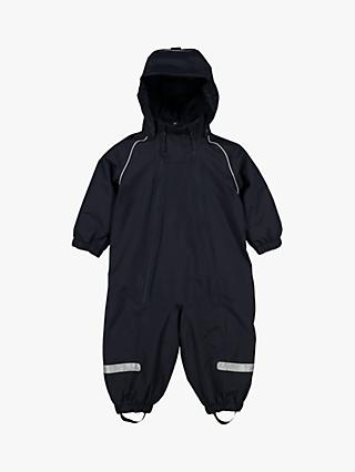 Polarn O. Pyret Baby Waterproof Shell Overall, Dark Sapphire