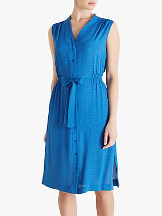Fenn Wright Manson Daryl Dress, Blue/Apricot Spot