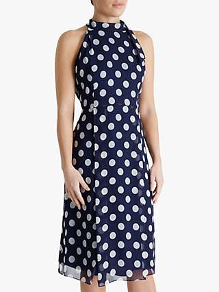 Fenn Wright Manson Petite Marjorie Dress, Navy