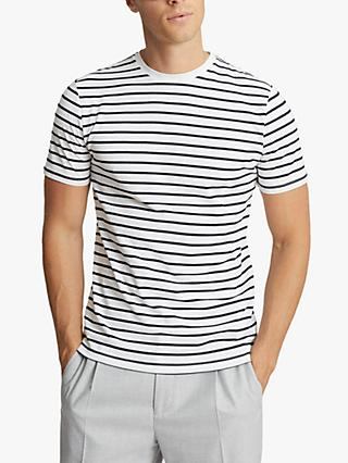 Reiss Holborn Stripe Short Sleeve T-Shirt