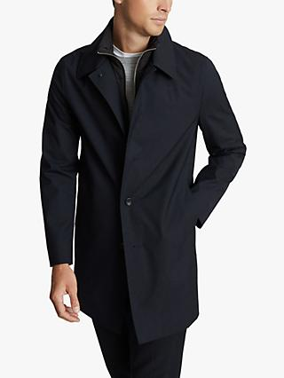 Reiss Perrin Mac Coat, Navy