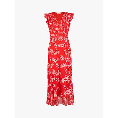 AllSaints Dela Jasmine Dress, Red