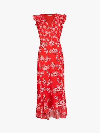 AllSaints Dela Jasmine Dress, Red