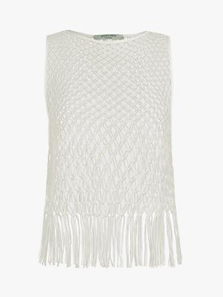 AllSaints Jesa Lace Top, White