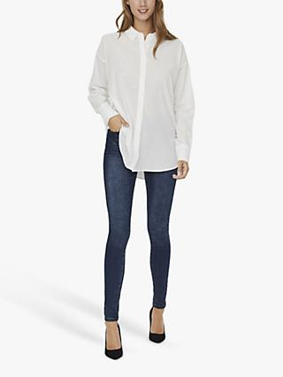 AWARE BY VERO MODA India Shirt, White