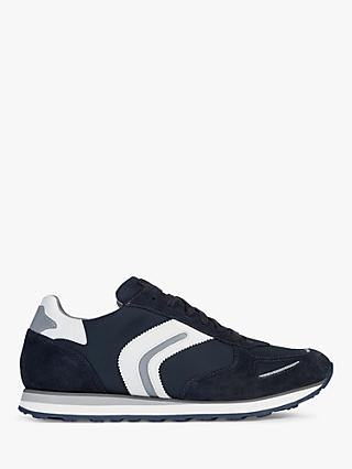 Geox Vittoriale Trainers, Navy/White