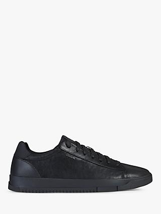 Geox Segnale Leather Lace Up Trainers