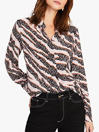 Damsel in a Dress Averie Abstract Print Shirt, Multi