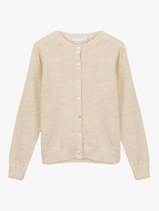 Mintie by Mint Velvet Girls' Cardigan, Gold