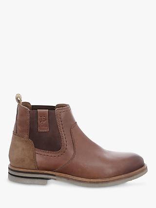 Josef Seibel Stanley 03 Leather Chelsea Boots, Brown