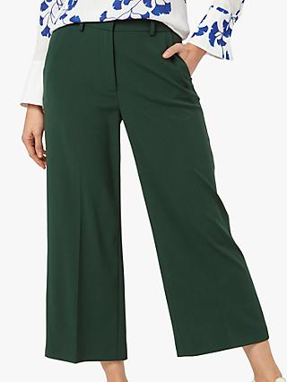 The Fold Besano Culottes, Dark Green