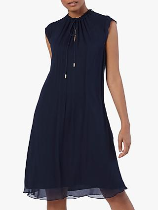 The Fold Andeville Dress, Navy