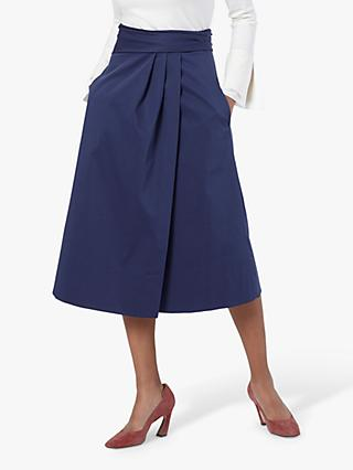 The Fold Montecarlo Skirt, Indigo