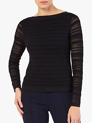 The Fold Chatillon Jumper, Black