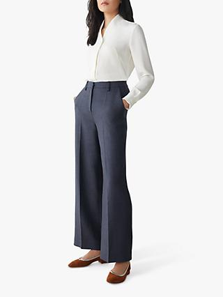 The Fold Bowery Blouse, Ivory