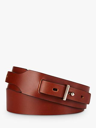 The Fold Britten Leather Belt