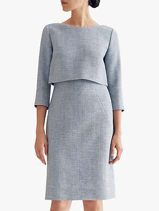 The Fold Northcote Dress, Blue