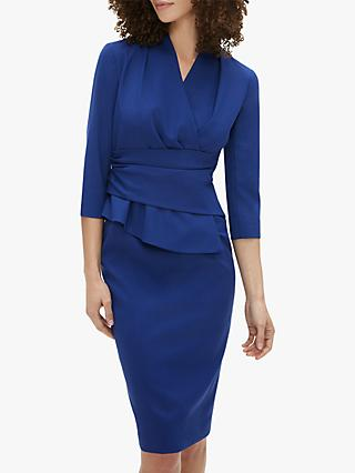 The Fold Arlington Dress, Indigo Blue