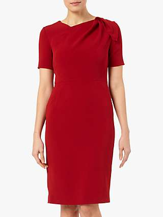 The Fold Melrose Dress, Red