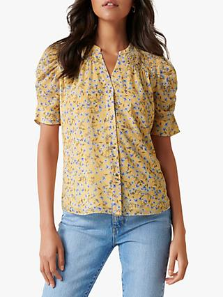 Forever New Jaiden Blouse, Cornflower